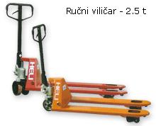 Ručni viličar - 2.5 tone